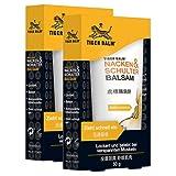 TIGER BALM Nacken & Schulter Balsam - Natürlicher Balsam bei Verspannungen im Nacken- & Schulterbereich - Pflegende Einreibung ideal für unterwegs - 2 x 50 g