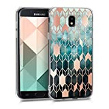 kwmobile Samsung Galaxy J5 (2017) DUOS Hülle - Handyhülle für Samsung Galaxy J5 (2017) DUOS - Handy Case in Blau Rosegold