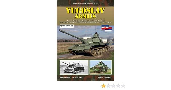 Modellbau Tankograd 7023 Panzerfahrzeuge der jugoslawischen Heere 1945-heute