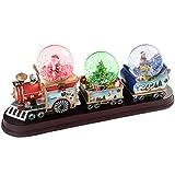 WeRChristmas Décoration de Noël Train avec 3 boules à...