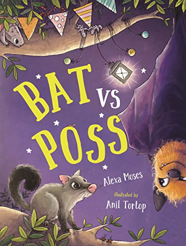 Bat vs Poss: A story about sharing and making friends (English Edition)