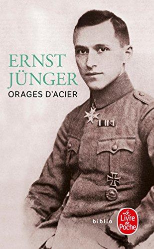 Orages d'acier par Ernst Jünger