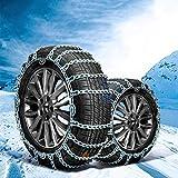 Auto Schnee Kette Anti-Slip Reifen Kette Winter Schnee Kette Notfallkette Geeignet für die meisten Automotive SUV LKW (größe : 265\70R17)
