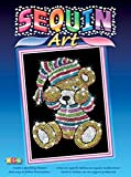 Sequin Art Teddy