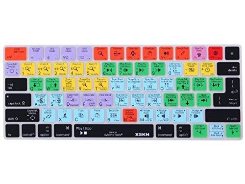 XSKN para Magic Keyboard Cover Avid Pro Tools Teclado de teclado para teclado, English Functional Hot key Película protectora compatible Apple Magic Keyboard MLA22LL/A, MLA22B/A