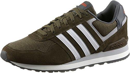 adidas - 10k, Scarpe sportive Uomo Verde (Olitra / Ftwbla / Energi)