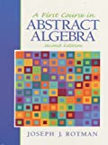 A First Course in Abstract Algebra (Pearson education)