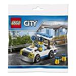 Lego-Giochi-di-Costruzione-City-30352-Auto-della-Polizia-Versione-Tedesca