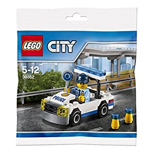 LEGO, Giochi di Costruzione, City30352, Auto della Polizia (Versione Tedesca) 5702015876155 LEGO