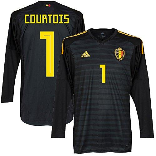 Belgien Home TW Trikot 2018 2019 + Courtois 1 - L