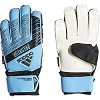 adidas Predator Top Training Fingersave Junior, Goalkeeper Gloves Bambino, Bright Cyan/Black, 7