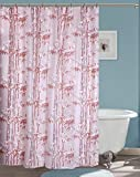 Yellow Weaves PVC Printed Shower Curtain...