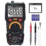 Multimeter, Tester Elektro  tacklife DM07TRMS 6000, Amperemeter/Voltmeter/Widerstandsmessgerät/-Funktion NCV und Live/Der Lage Temperatur; Die Frequenz und der Bericht zyklische des Signal AC
