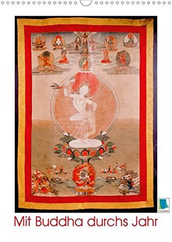 Mit Buddha durchs Jahr: historische Zeichnungen (Wandkalender 2020 DIN A3 hoch): Buddha: Meditative, historische Zeichnungen (Monatskalender, 14 Seiten ) (CALVENDO Glaube)