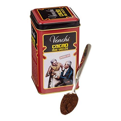 Venchi Cacao due Vecchi Metalldose mit reinem Kakaopulver
