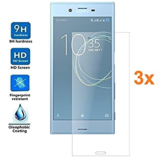 Pack 3x Screen Protector for SONY XPERIA XZ PREMIUM, Tempered glass, Premium quality, King Electronics®