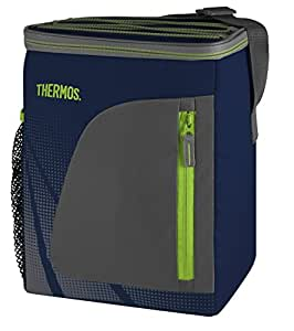 Thermos Radiance Sac isotherme pour bouteilles, Tissu, bleu marine, 12 Can