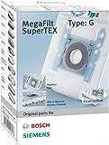 Bosch BBZ 41 FG 4 Sacs Aspirateur + 1 filtre Compatible : BSG6/BSD 450 W Blanc