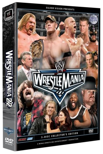 WWE Wrestlemania XXII (3 Disc Box Set) [UK Import]
