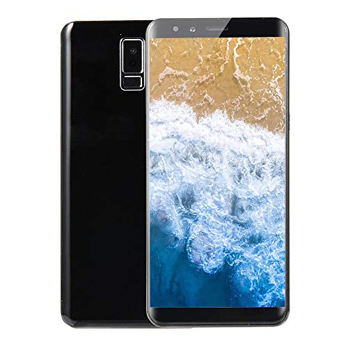 Fulltime E-Gadget Neue Art und Weise 5,7 Zoll Doppel-HDCamera Smartphone Android 5.1 IPS-Full-Bildschirm GSM/WCDMA-Touch Screen 512 MB RAM + 512 MB ROM WiFi Bluetooth GPS 2G Anruf-Handy (Schwarz)