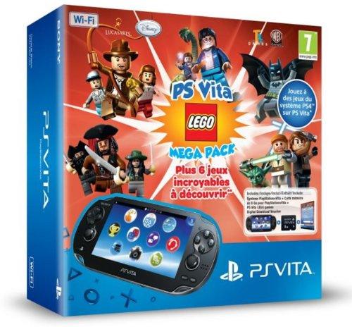 Console Playstation Vita Wifi + Lego mega pack + carte memoire 8 Go