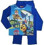 Paw Patrol Ökotex Standard 100 Schlafanzug Kollektion 2018 Pyjama 92 98 104 110 116 Langarm Jungen Neu Weiß-Blau (Blau, 98-104)