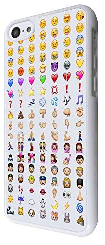 iphone 5C Cool Smiley Faces emoji Funky Design Fashion Trend Cover Coque arriere Coque Case-Plastique et métal