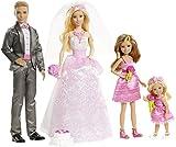 Barbie Mattel Chg38 Matrimonio Set Giochi