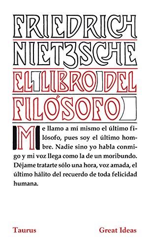 El libro del filósofo (Serie Great Ideas 21) por Friedrich Nietzsche