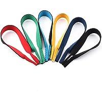 Surplex Confezione da 6 corde in neoprene con elastico per occhiali Cinturino con fibbia per occhiali sportivi e per…