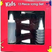 Premium Cookie und Cupcake Dekorieren Kit–Piping/Icing Düsen Tipps Dekorative wirbelt mit flexibler Flaschen