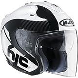 HJC 144005XL Casco Moto, Bianco, XL