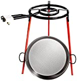 Vaello Campos S.L. 6140A Gas Burner/Gas Burner Stand/Frying Pan Set