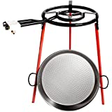 La Valenciana 6140 - Set para cocinar paella, 46 cm