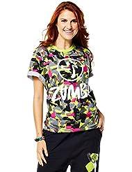 Zumba Fitness Da Funky T-Shirt Femme