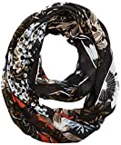 PIECES Damen Schal Pcjesu Tube Scarf PB, Mehrfarbig (Black), One Size