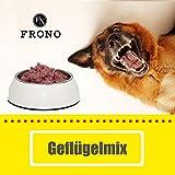 Frostfutter Nordloh Barf-Paket Premium Geflügel Mix 20kg (40x 500g Päckchen), Barf-Fleisch für Hunde und Katzen