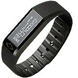 Top prime - Monitor de Actividad X6 Pulsera Inteligente Negro