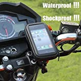 Delight Accessories Touch-friendly Bike/Bicycle Mobile Mount for Motorcycle with IP68 Waterproof Case