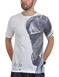 T-shirt Walking Dead Daryl Dixon Bandana blanc