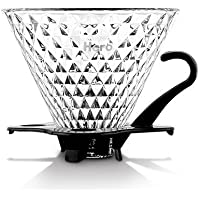 smkf riutilizzabile 1 – 4 tazze Coffee Dripper Glass