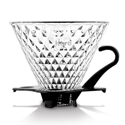 smkf riutilizzabile 1 - 4 tazze Coffee Dripper Glass