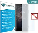 3 x Slabo PREMIUM Pellicola Protettiva in Vetro Temperato Sony Xperia XA2 Pellicola Protettiva Schermo (pellicole rimpicciolite, a causa della convessità del display)