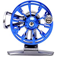 Lergo - Carrete de Pesca con Mosca de Aluminio, Ultraligero, Azul
