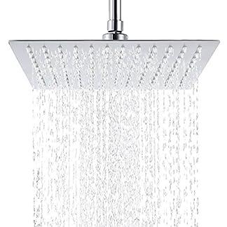 Hiendure acero inoxidable cabezal de ducha