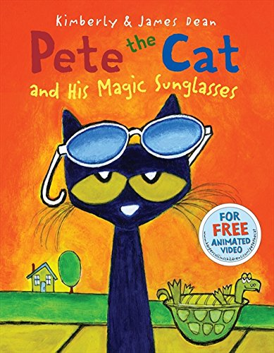 Pete the Cat and His Magic Sunglasses por James Dean