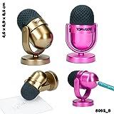 TOPModel Anspitzer & Radiergummi Mikrofon GOLD *Neu & Ovp*
