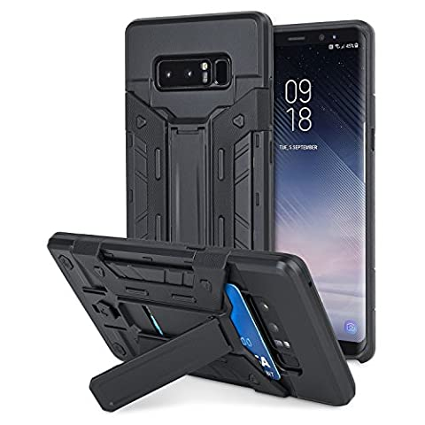 Olixar X-Trex Galaxy Note 8 Case [Protective Hard Rugged Tough Case] [With Kickstand and Card Slot]