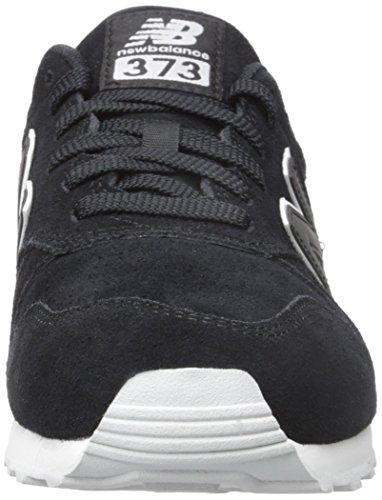 New Balance 373, Baskets Homme Noir (Black)