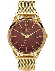 Henry de Londres Unisex Reloj de pulsera Holborn–Analógico de Cuarzo Acero inoxidable hl39de m de 0062